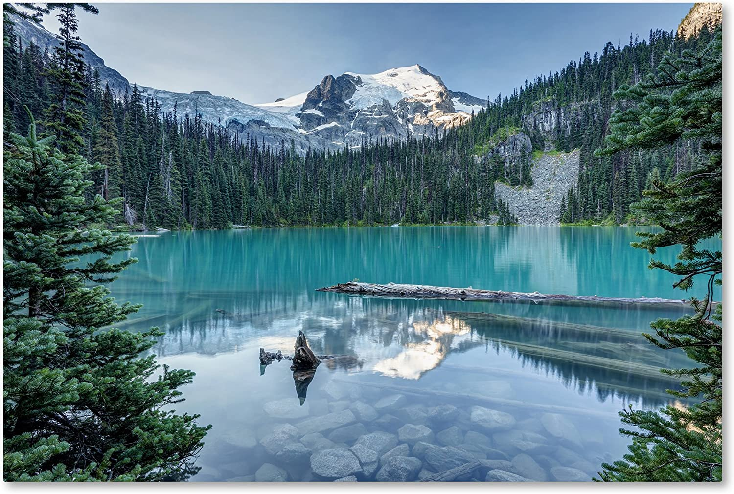 Amazon Com Natural Beautiful British Columbia By Pierre Leclerc 22x32 Inch Canvas Wall Art Posters Prints