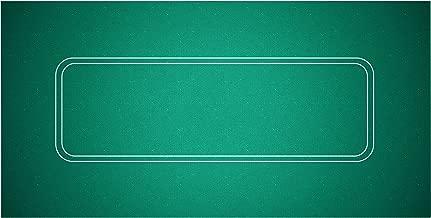 Trademark Poker Texas Hold'em Layout 36-Inch x 72-Inch