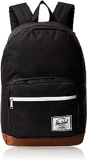 Herschel Unisex-Adult Backpacks, Black/Saddle Brown - 10011-02462-OS