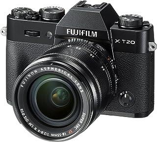 Fujifilm X-T20 systemkamera med XF18-55 mm objektivsats (Touch LCD 7,6 cm (2,99 tum) display, 24,3 megapixel APS-C X-Trans...