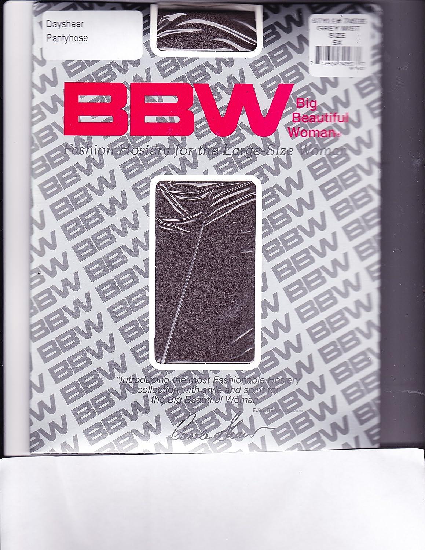 BBW Fashion Hosiery for Large Size Women 3 Pair Pack 5X Greymist