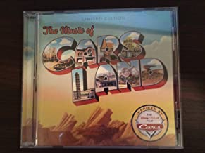 The Music of Cars Land Official Soundtrack, Disneylands California Adventure, Limited Edition
