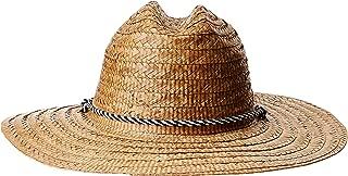 San Diego Hat Company Men's Kwai Braided Straw Lifeguard Hat