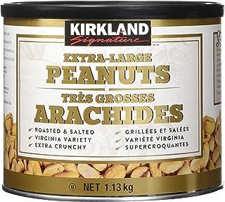 Kirkland Signature Extra Large Peanuts 1.13 Kg Roasted & Salted