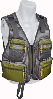 MDSTOP Fly Fishing Vest, Adjustable Mesh Photography Jacket with Pockets, Quick-Dry Hunting Waistcoat, Fits for Outdoor Sports