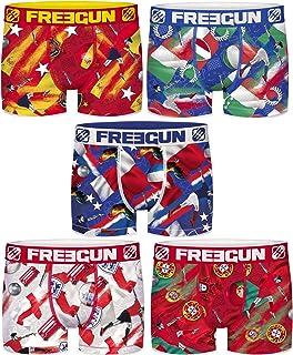 Freegun Marvel Boys Boxer Shorts Spider-Man Avengers Captain America Comic Superheroes Print Pack of 4 6//8 8//10 10//12 12//14 14//16 Years