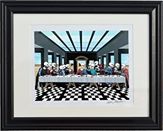 The Lost Supper or the Last Supper? Ancient Aliens / UFO / Alien Art / Hollow Earth Theory / Alien Beings / Surrealism / Surrealistic Art / Surrealistic Paintings / Juxtapoz / New Paintings / New Art