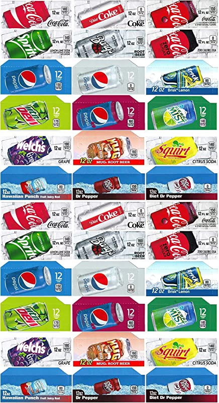 Vending World 36x Flavor Strip For 12 Oz Cans Soda Pepsi Coke Vending Fits Dixie Narco Vendo