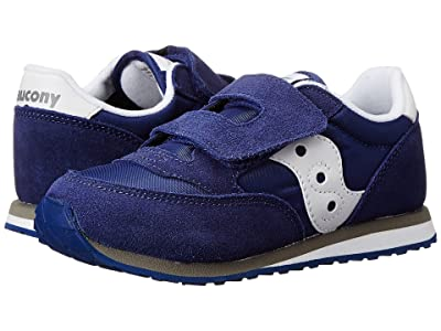 Saucony Kids Originals Jazz Hook Loop (Toddler/Little Kid) (Cobalt Blue) Boys Shoes