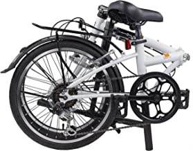 "Dahon Dream D6 Folding Bike,20"" Steel Frame 6-Speed Shimano Gears Foldable Bicycle for Adults"