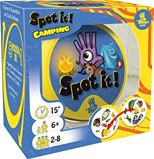 Asmodee Spot It! Camping Colorful(game Camping) 90.0090.0030.00mm