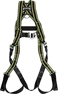 Miller by Honeywell E650/UGN DuraFlex 650 Series Full-Body Stretchable Harness with Mating Buckle Legs Straps, Universal, Green