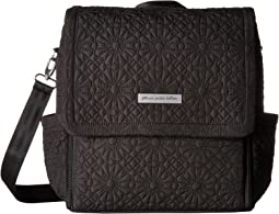 Embossed Boxy Backpack