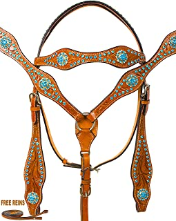 bridle and breast collar set