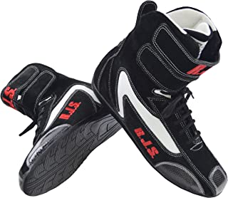 RACERDIRECT.NET RJS Racing Safety Equipment HI TOP Shoes Boots SFI 3.3/5 US Mens Size 13