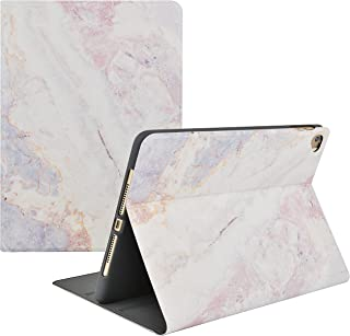 KECC Case for iPad Mini 1/2/3/4/5 Case Smart Cover Protective Multi-Angles Stand Shockproof Case with Auto Sleep/Wake Function for iPad Mini, Mini 5 (2019), Mini 4 (White Marble 2)