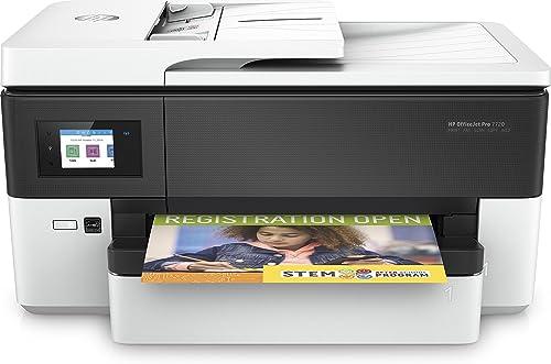 HP Officejet Pro 7720 Imprimante multifonctions A3 Jet d'encre (22ppm, 4800x1200 ppp, Wifi/Ethernet/USB)