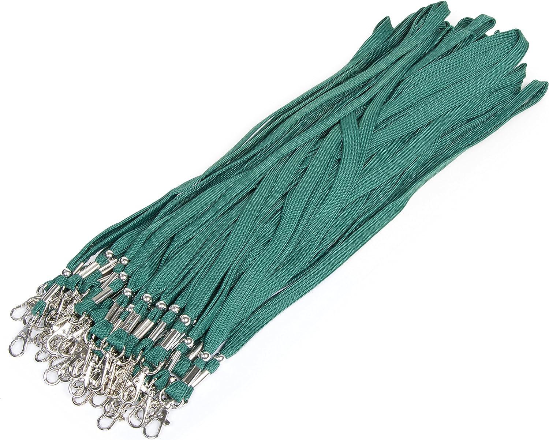 Grünes unbedrucktes Schlüsselband Lanyard NEU!!