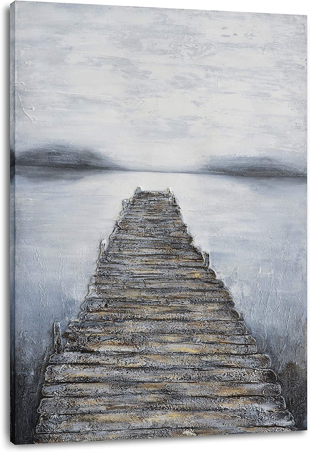 Lake Our shop most popular House Decor Indianapolis Mall for The Home Wall Rustic Bridge Offic Art -