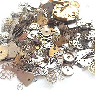 watch parts for steampunk jewelry