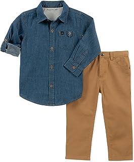 Calvin Klein - Juego de Pantalones para bebé (2 Piezas)