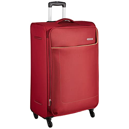 American Tourister Jamaica Polyester 80 cms Wine Red Softsided Suitcase (27O (0) 70 003)