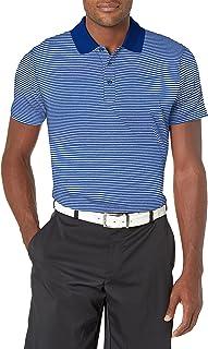 Cutter & Buck Men's Drytec UPF 50+ Forge Tonal Stripe Tailored Fit Polo Shirt
