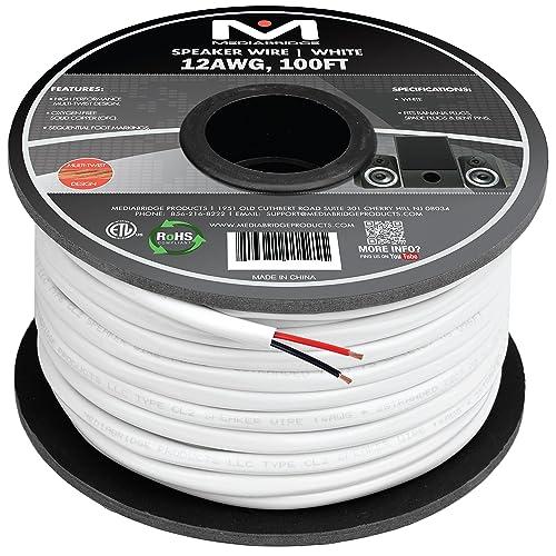 100 Ft Speaker Wire   100 Ft Speaker Wire 12 Gauge Amazon Com