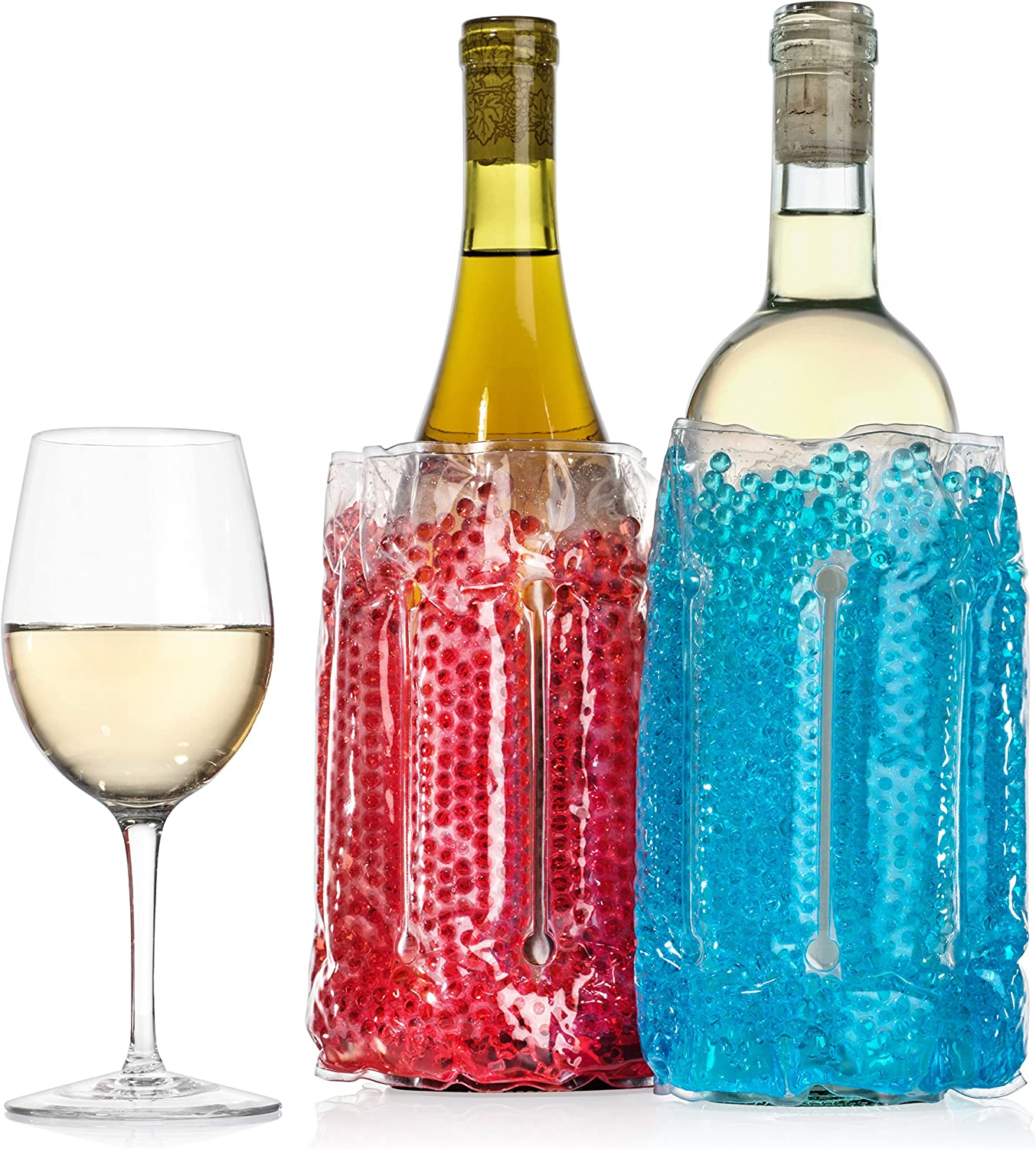 2 Max 89% OFF pack Wine Chiller Sleeves Washington Mall - Cookouts for Perfect Pic Parties