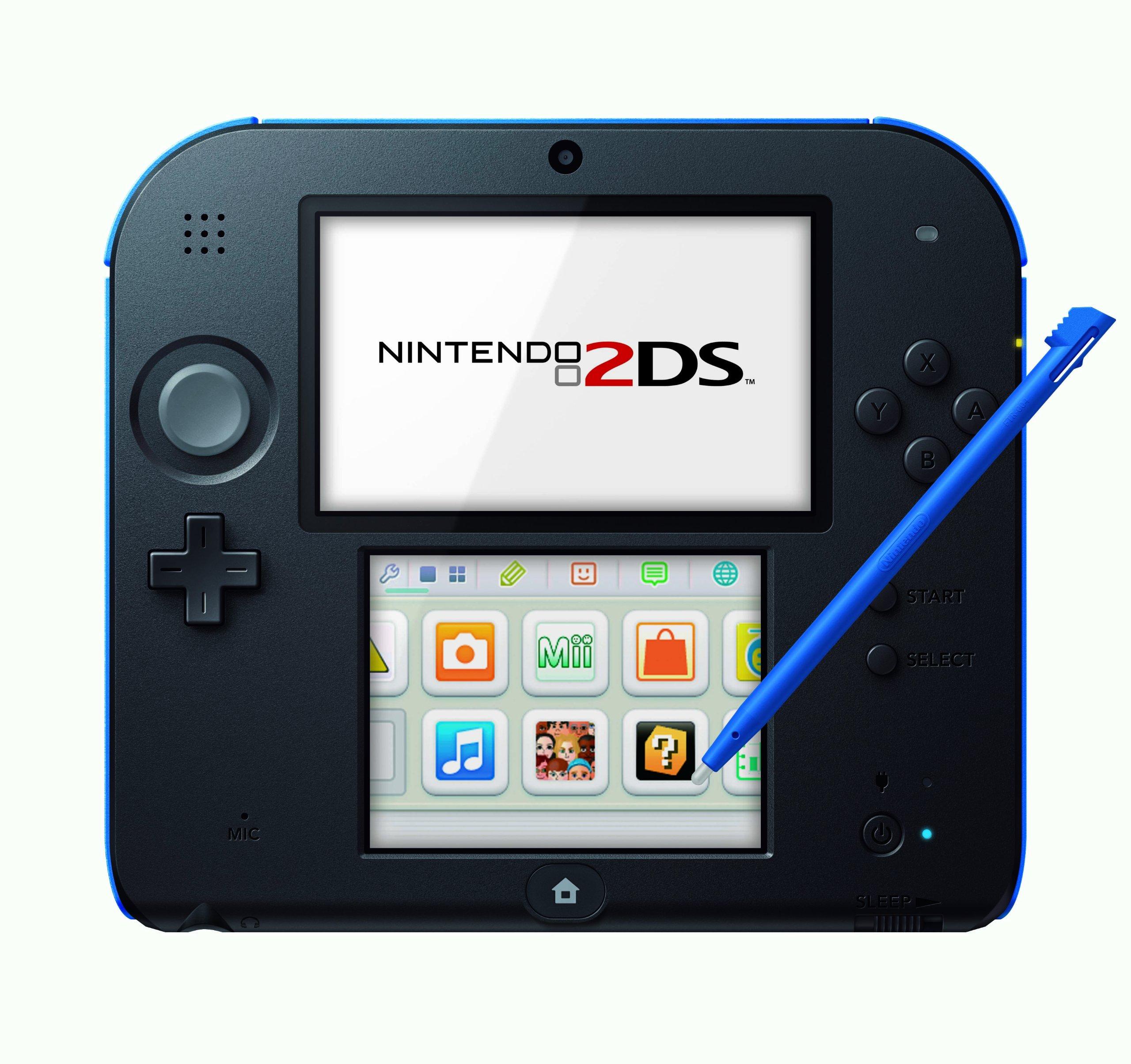 Nintendo 2DS - Consola, Color Azul Y Negro: Amazon.es: Videojuegos