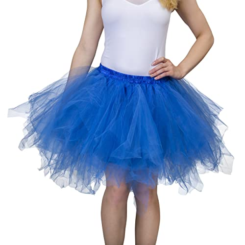 978c5daa5 Dancina Adult Tutu 50's Vintage Petticoat Tulle Skirt for Women  Regular/Plus Size w/