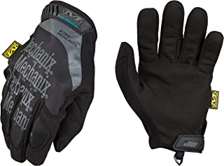 Winter Work Gloves for Men by Mechanix Wear: Original Insulated with 3M Thinsulate, Touchscreen (Large, Black/Grey)