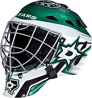 Franklin Sports GFM 1500 NHL Team Goalie Face Mask — Street Hockey Mask Modeled After U.S. and Canadian Hockey Teams — Goalie Mask for Kids' Hockey