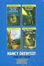 Nancy Drew Mystery Stories Collection Starter Books 1 to 4 Set: The Secret of the Old Clock, The Hidden Staircase, The Bun...
