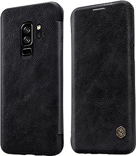 Nillkin Samsung Galaxy S9 Plus Qin Flip Series Leather Case Cover- Black