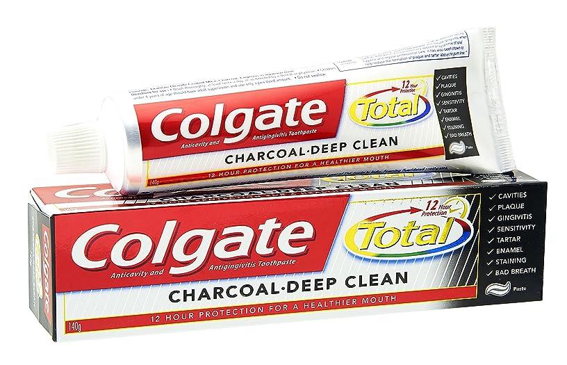 うぬぼれた放棄するベルトColgate Toothpaste Total Charcoal - 120 gm