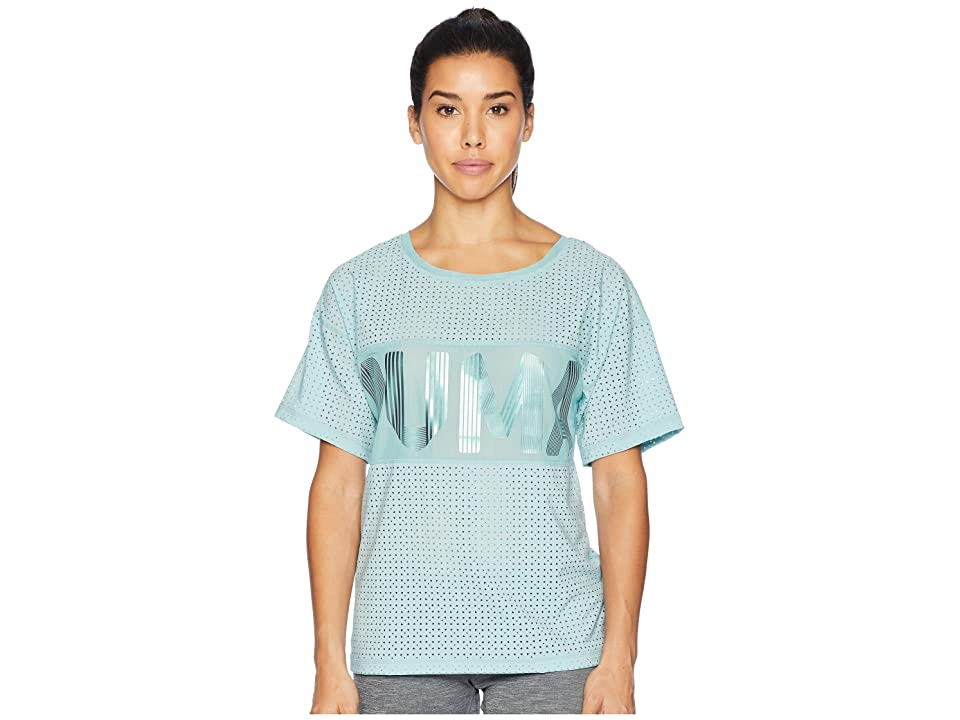 PUMA Big Cat Drapey Tee (Aquifer) Women