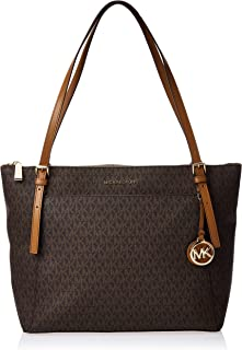 Michael Kors Womens Voyaer Bag, Brown/Acorn - 30F9GV6T9B