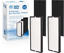 Fette Filter - Air Purifier True HEPA Replacement Filter Set Compatible with Rowenta PU6010 and PU6020 Intense Pure Air XL...