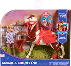 DreamWorks Spirit Riding Free Collector Doll & Horse – Abigail & Boomerang, Multi-Color, 5 inches