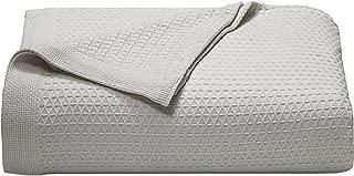 Nautica Baird Cotton Blanket, Twin, Grey