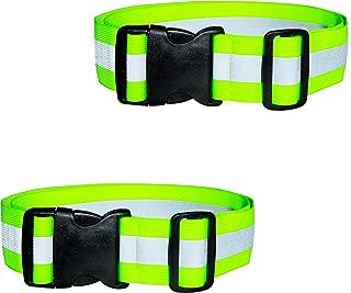 DASHGLOW - 2 Pack - Reflective Glow Belt Safety Gear, Pt Belt, for Running Cycling Walking Marathon Military