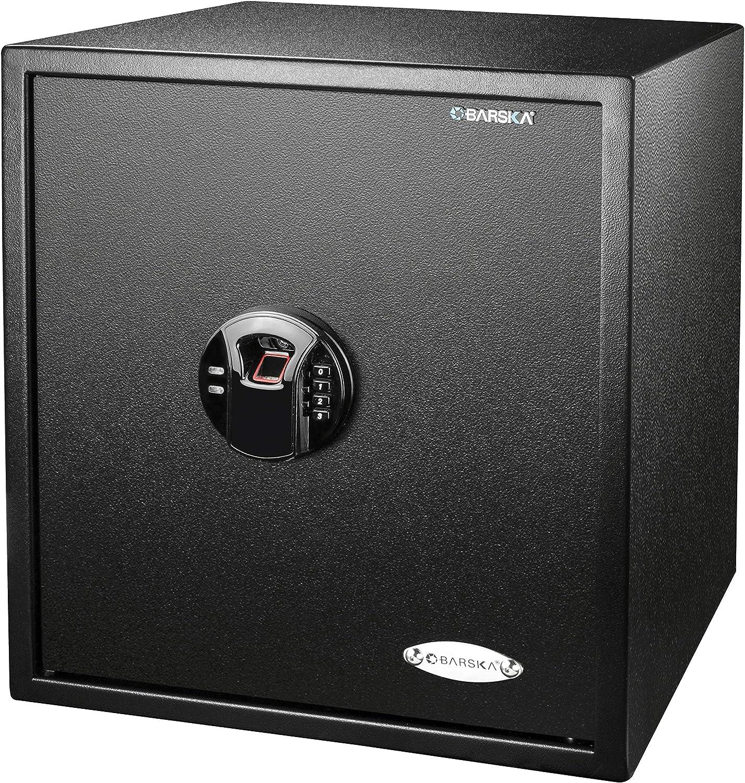 Jacksonville Mall BARSKA Large 1.94 Cubic Feet High quality Biometric Fingerprint Steel Keypad