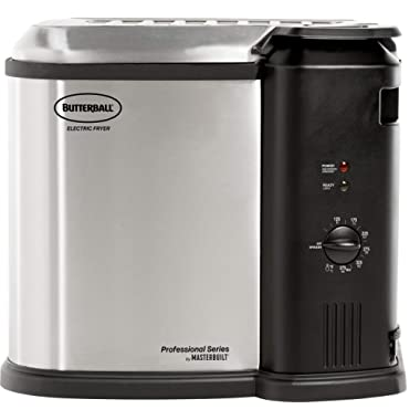 Masterbuilt MB23012418 Butterball XL Electric Fryer, 10L - Extra Large, Gray