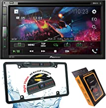 Pioneer AVH-310EX Double-Din 6.8-Inch in-Dash Car DVD Receiver with Built-in Bluetooth + License Backup Camera Included + Gravity Magnet Phone Holder