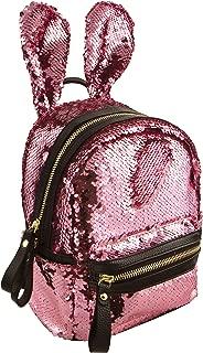 スタイル。 ラボスタイル ラボ ピンク ファッション 天使 マジック スパンコール バニー ミニ バックパック