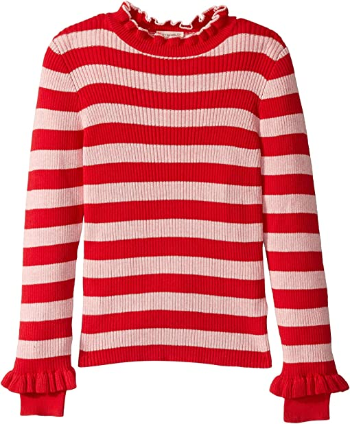 Red/Blush Stripe