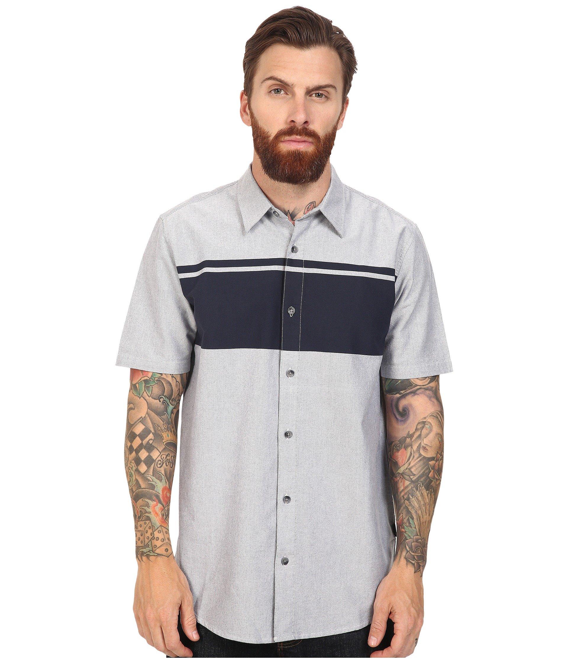 Camisa para Hombre Oakley Sims Woven Top  + Oakley en VeoyCompro.net