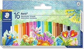 Staedtler Oil Pastels, Beginners Set of 16 Color-Intensive Colors (241NC16)