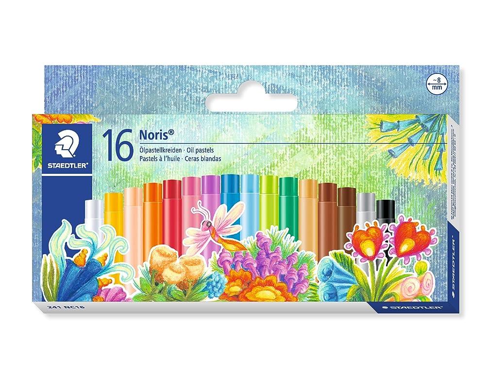 Staedtler Oil Pastels, Beginner's Set of 16 Color-Intensive Colors (241NC16)
